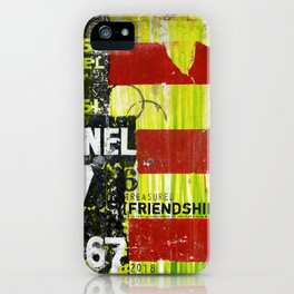Restoration friendship iPhone Case