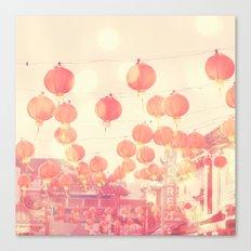 Chinatown. Los Angeles photograph Canvas Print