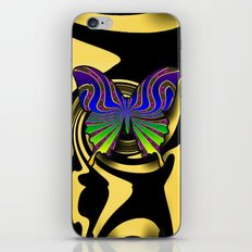 butterfly fantasy iPhone & iPod Skin