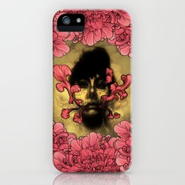 I Am Serius With Flowers iPhone Case