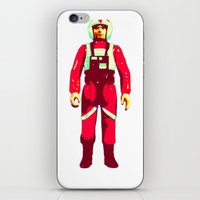 pilot iPhone & iPod Skins featuring pilot by BzPortraits
