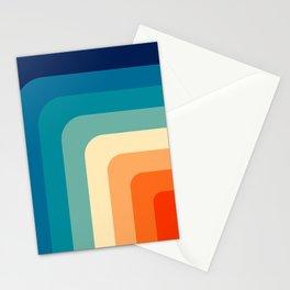 80s Vintage pattern Stationery Cards