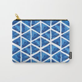 Watercolor triangles Carry-All Pouch