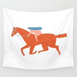 Naked derby Wall Tapestry