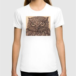 Fierce Brown Owl T-shirt