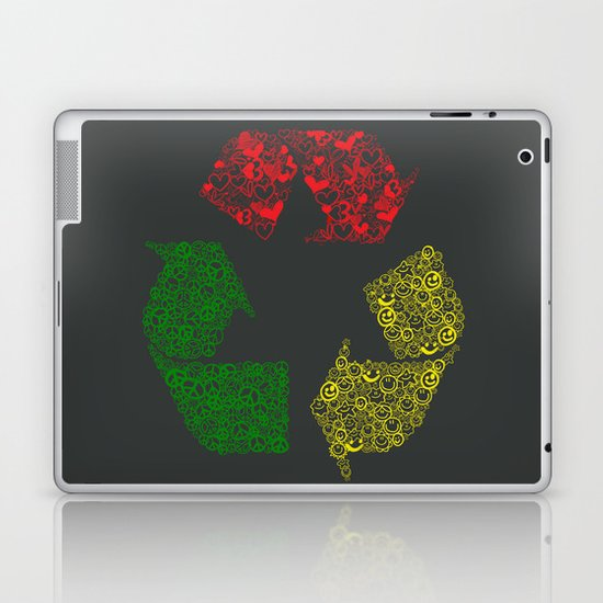 Peace, Love and Happiness Laptop & iPad Skin