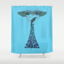 Glacier Bay II Shower Curtain