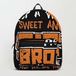 Brother And Sister Backpack