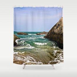 Sri Lankan Beach Shower Curtain