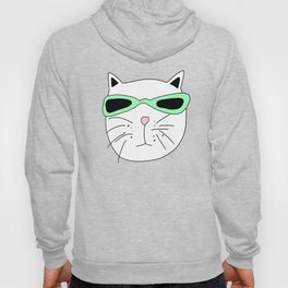 Cat Mint Sunglasses Hoody