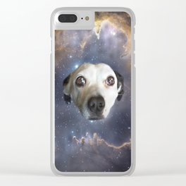 Dog Star Clear iPhone Case