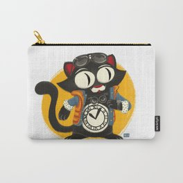 Time Cat Carry-All Pouch