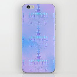 Embossed Chandelier iPhone Skin