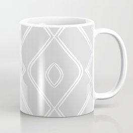 Modern Boho Ogee in Grey Coffee Mug