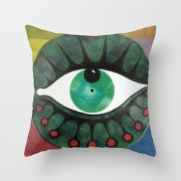 occhio yap 03 Throw Pillow