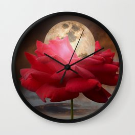 Moon Glow Wall Clock