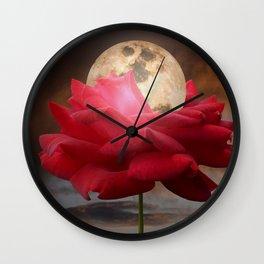 Moon Glow Wall Clock