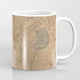 Vintage Map of Springfield MA (1851) Coffee Mug