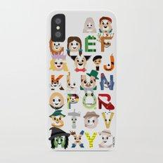 Oz-abet (an Oz Alphabet) iPhone X Slim Case
