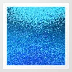 ocean ripple Art Print