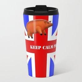 Pink Floyd Pig at Battersea Travel Mug