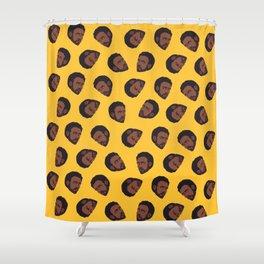 GAMBINO   yellow Shower Curtain