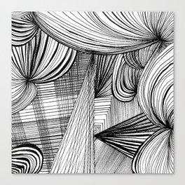Overwhelmed Canvas Print