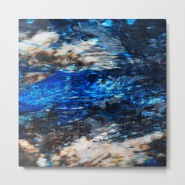 Nautical Blues Metal Print