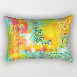 Summer Love Rectangular Pillow