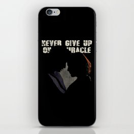 The X-Files - Never Give Up On A Miracle iPhone Skin