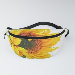 Yellow Provincetown Sunflower Fanny Pack