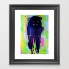 night-bear Framed Art Print