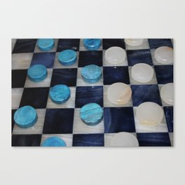 Checkers Canvas Print