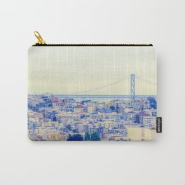 bridge and city view at San Francisco, USA Carry-All Pouch
