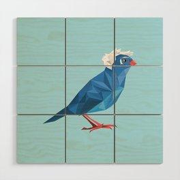 Birdie Sanders Wood Wall Art