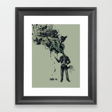 Decaying Sound of The Terror Framed Art Print