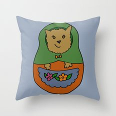 Piptroyshka Throw Pillow