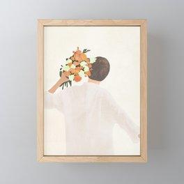 Floral Gift Framed Mini Art Print