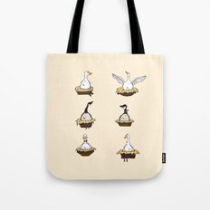 Six Geese-a-Laying Tote Bag