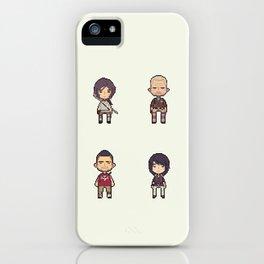16-bit Tomb Raider iPhone Case