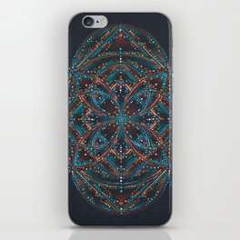 Sedona Votex Mandala iPhone Skin