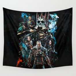 The Witcher Wild Hunt Wall Tapestry