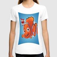 finding nemo T-shirts featuring nemo  , nemo  games, nemo  blanket, nemo  duvet cover by ira gora