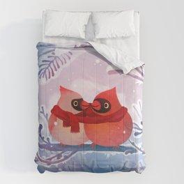 winter lovers Comforters