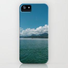 Hawaiian View iPhone Case