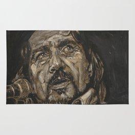 Waylon Jennings Rug
