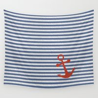 sailor Wall Tapestries featuring sailor by zakumy