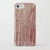 birch iPhone & iPod Cases featuring Birch by Indigo Rayz