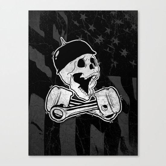 666% Canvas Print
