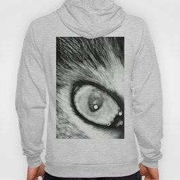 Eye of the Cat (B&W) Hoody